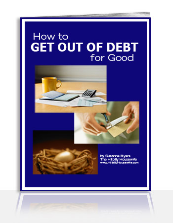 Get Out Of Debt For Good