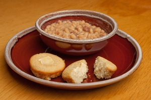 Beans and Corn Bread