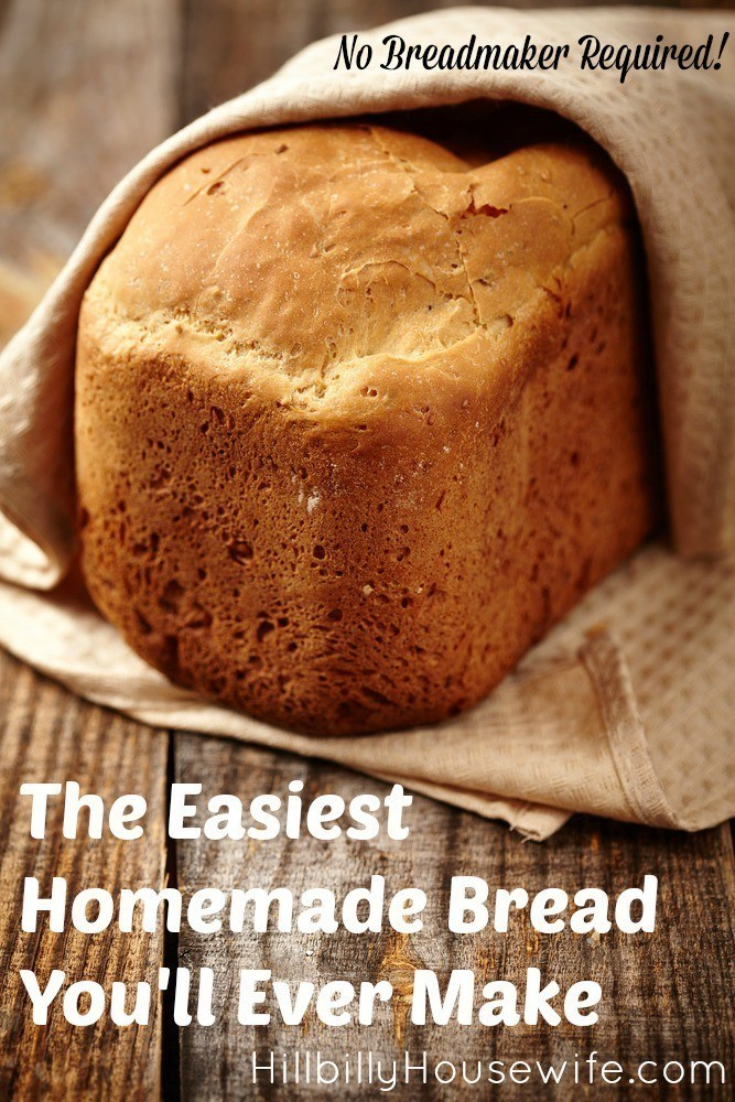 Here's how to bake homemade bread for your family.
