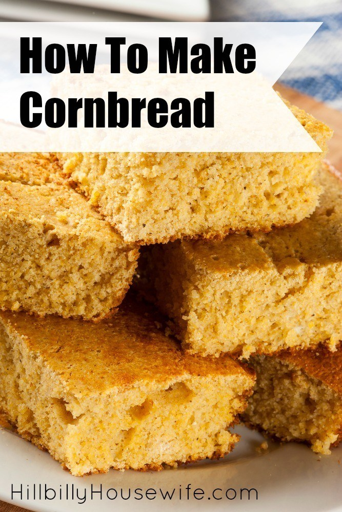 how to make cornbread with cornmeal