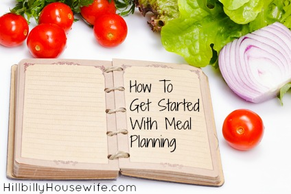How To Get Started With Meal Planning
