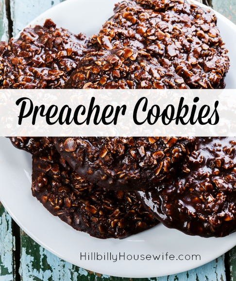 Quick And Easy Preacher Cookies