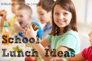 Ideas for packed school lunches