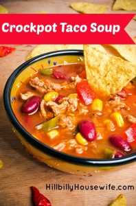 Yummy Crockpot Taco Soup