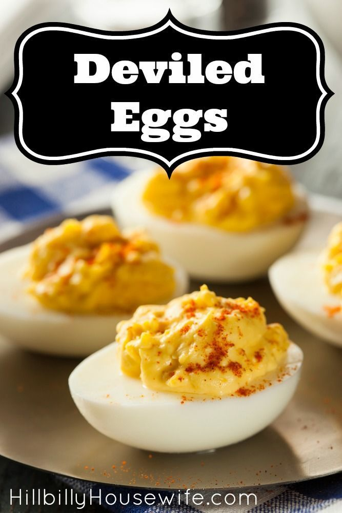 Perfect for snack and potlucks. Who doesn't love a plate of homemade deviled eggs? Here's how I make mine.