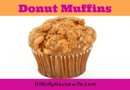 Donut Muffin Recipe