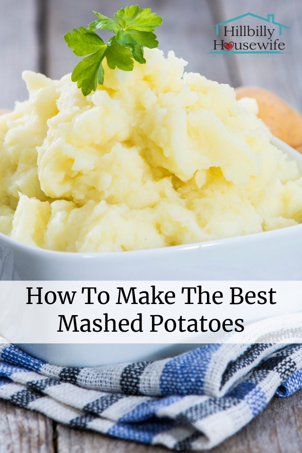 Here's how to make real mashed potatoes that come out perfect every time.
