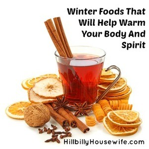 Winter hot drink