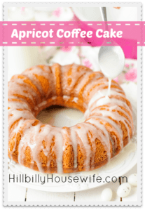 Apricot Coffee Cake Recipe