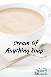 Stop buying cream of soups and start making your own with this simple mix recipe.