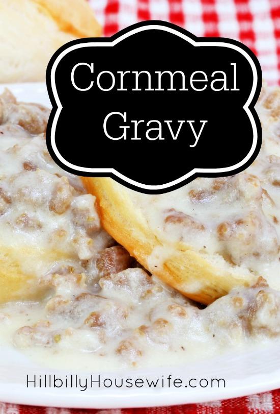 Cornmeal Gravy