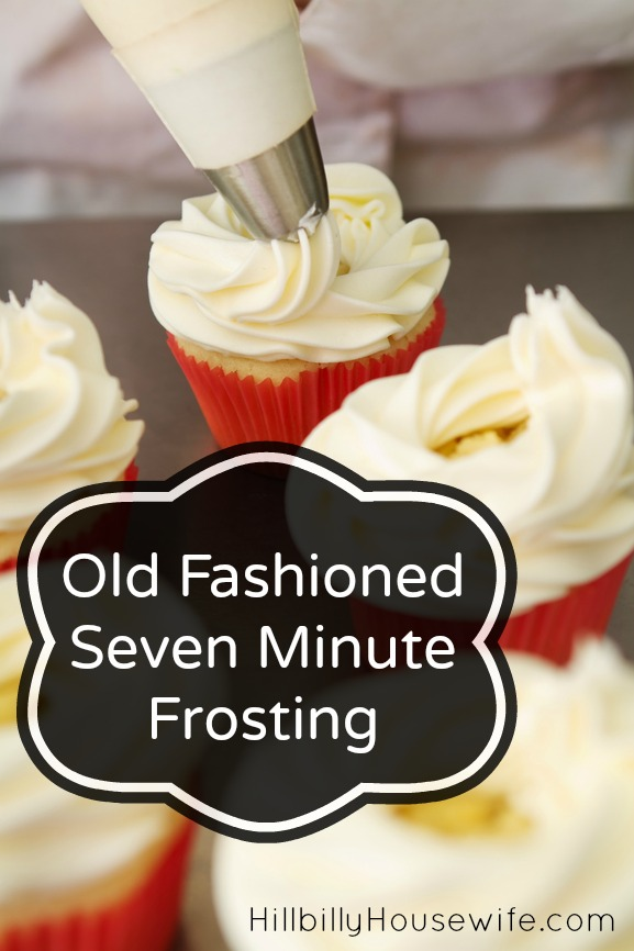 Homemade 7 Minute Frosting
