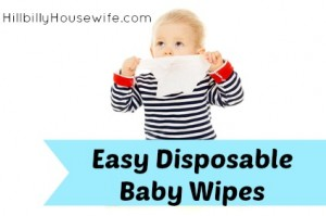Easy Disposable Baby Wipes