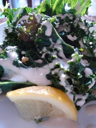 Kale Salad with Lemon