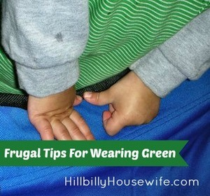 Frugal Tips For Wearing Green on St. Patrick's Day