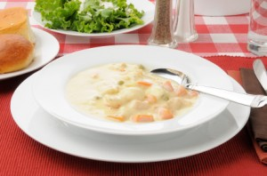 Simple Chicken And Dumplings
