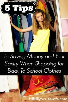 Save Money & Your Sanity When Shopping On Back To School Clothes