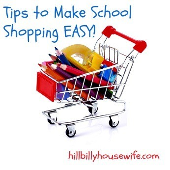 Tips to Make School Shopping Easy
