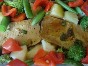 Tofu Pineapple Stir Fry