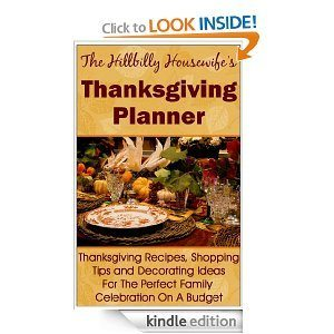 The Hillbilly Housewife Thanksgiving Planner