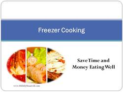 Freezer Cooking Basics