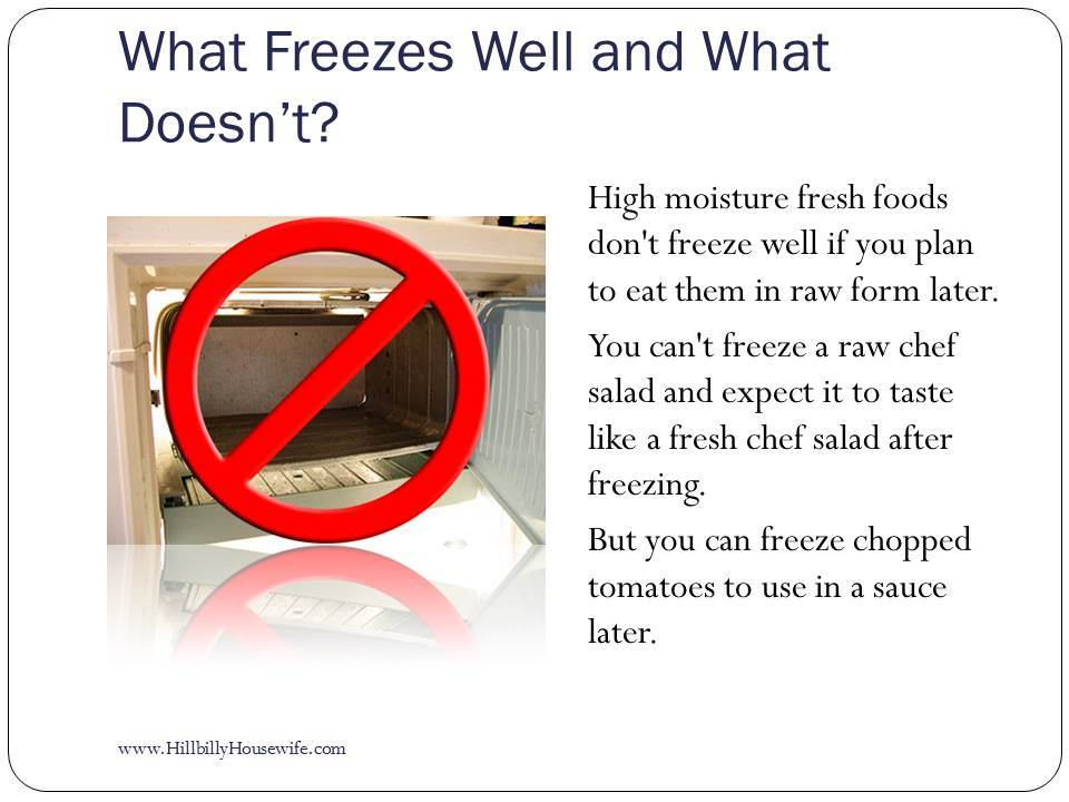 What Freeze's Well?