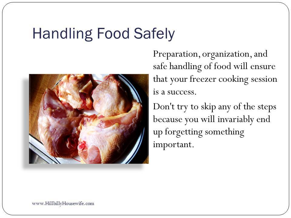 Handling Food Safely