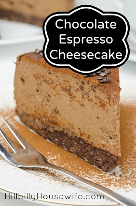 ... certain expectations espresso cheesecake chocolate espresso cheesecake