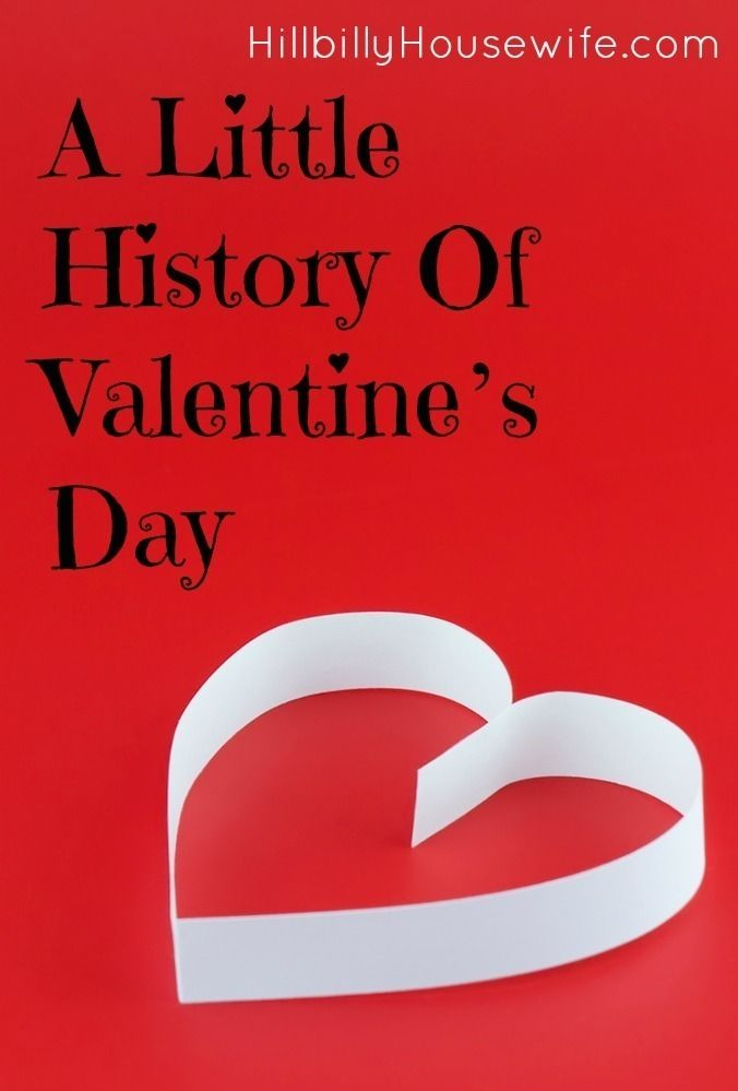 Curious how Valentine's Day became what it is today? Here's a fun little history lesson for you.
