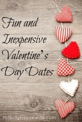 Are you looking for some date ideas for Valentine's Day that won't break the bank? Give these a try. Of course they are fun any time of the year.