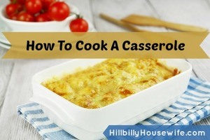 A simple casserole dish with cheese