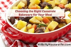 Beef stew in casserole dish