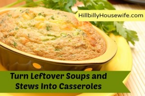 Turning Leftover Soups and Stews into Casseroles
