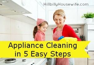 Cleaning your appliances in 5 easy steps
