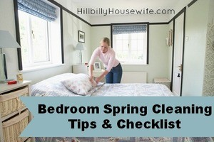 Tips and A Checklist for Spring Cleaning Your Bedroom