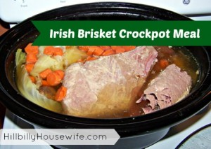 Irish Brisket Crockpot Meal