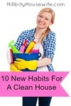 10 New Habits For A Clean House