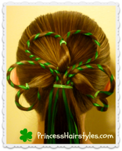 clover hairstyle