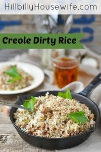Dirty Creole Rice