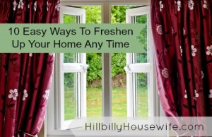 10 Easy Ways To Freshen Up Your Home Any Time