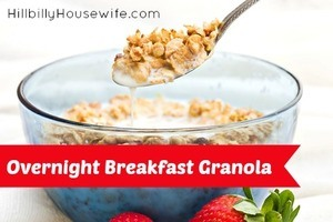 Overnight Granola