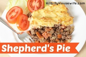 A plate of Shepherds Pie