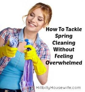 Tackle Spring Cleaning Without Getting Overwhelmed