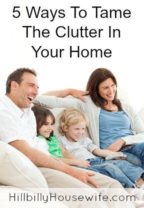 5 Ways To Tame The Clutter In Your Home