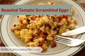 Scrambled Eggs with Tomato