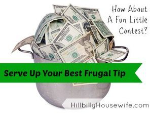 facebook frugal tip giveaway