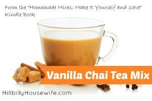 Homemade Vanilla Chai Tea Mix