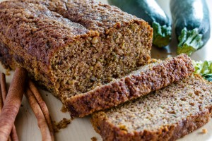 Fresh Baked Zucchini and Cinnamon Bread