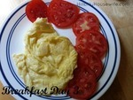 Scrambled Egg and Tomato