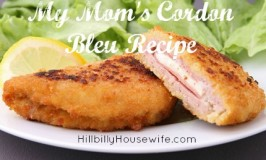 My Mom's Pork Cordon Blue Recipe